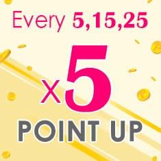 5x point day