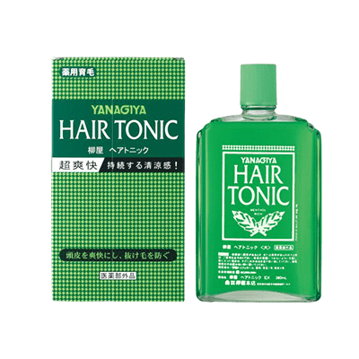 YANAGIYA Hair Tonic Salon-Grade