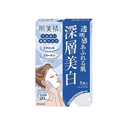 Kracie Facial Mask Clear Whitening