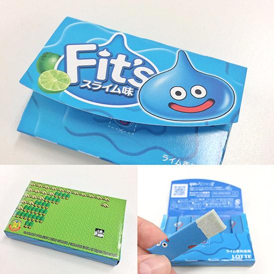 LOTTE Fit's Gum -Lime Slime- 10pcs Set