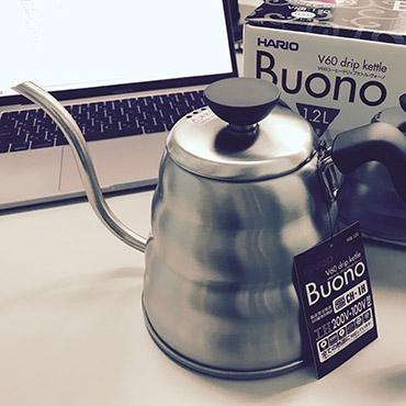 HARIO Coffee V60 Drip Kettle Buono